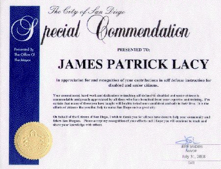 Special Commendation