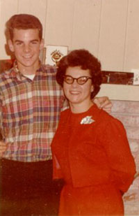 James Lacy and his Mother